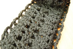 pretty scarf in black