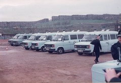 Police Ford Transits 1984 (PaulWestYorks) Tags: 1984 fordtransit minersstrike