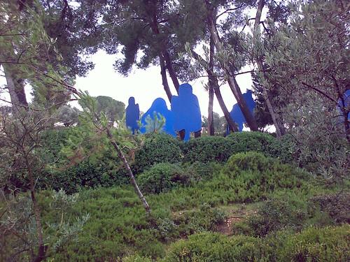 sculpture garden, israel musuem