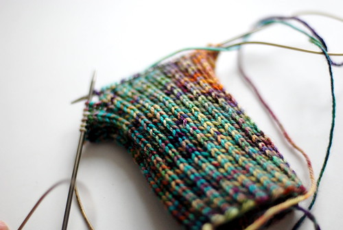 first sock in 2009