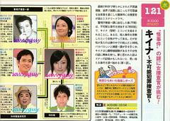 1/21 日本テレビ キイナ~不可能犯罪捜査官~