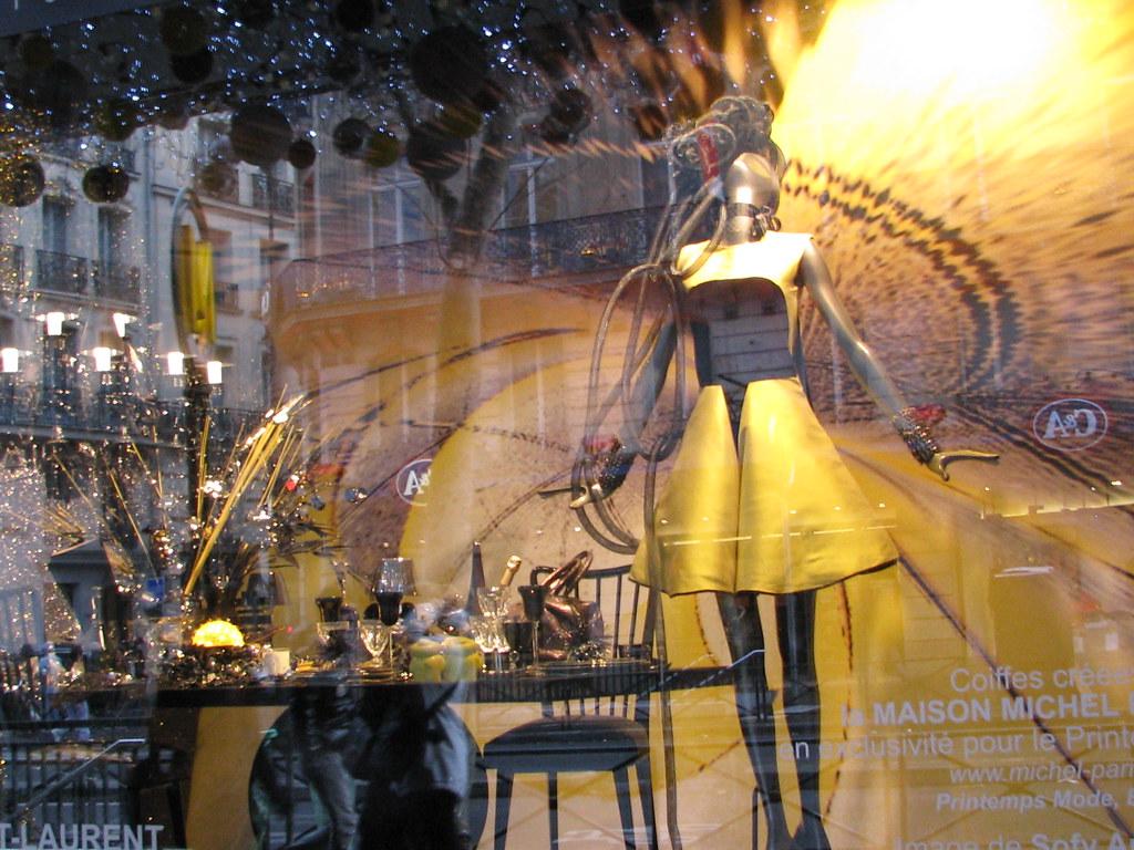 Window display, Paris