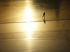 Approaching the seam (Lalallallala) Tags: sea ice suomi finland outdoors bay helsinki iceskating tlnlahti naturalice