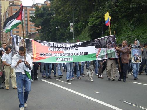 Marcha apoyo a Palestina / Gaza en Bogotá, Colombia - 20090106 - 1061690