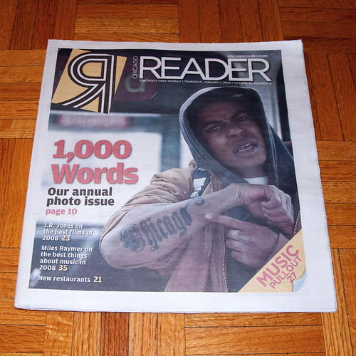 Chicago Reader 1000 Words Cover