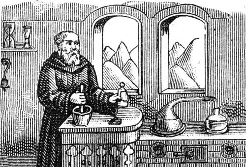 Apothecary monk