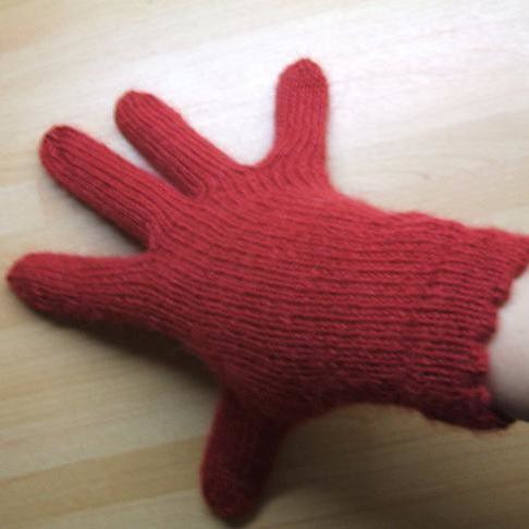 Alpaca gloves