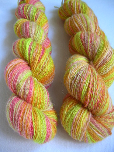 "Handspun ""Summersplash"""