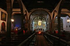 Los Llanos Church (Katka B.) Tags: wood sea españa church pine architecture de island islands la los spain erasmus interior canarias atlantic canary 2008 pino palma islas llanos llp aridane fotocompetitionbronze