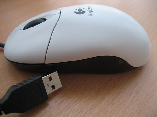 Souris Logitech Optical Wheel USB
