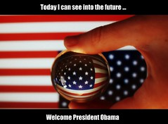 History In The Making (Clodders) Tags: history america future obama glassball barack obamabarrack hpad200109 pad200109