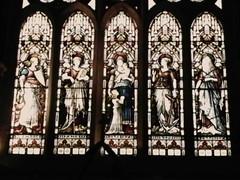 Kylemore Church chapel window (L. M. Bernhardt) Tags: ireland connemara kylemore