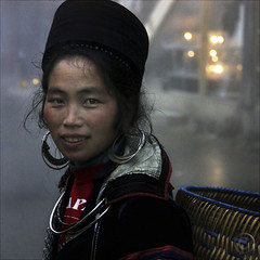 Conja hi  Hello Sapa (NaPix -- (Time out)) Tags: hello life street new blue portrait woman face fog night hope asia southeastasia basket year mother earring indigo culture ox vietnam explore jewlery ethnic lunar journalism sapa hmong 500x500 infinestyle napix winner500 conjahihellosapa lunarnewyearoftheox imherenow
