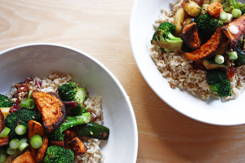 Vegan Stir Fry with Coconut Rice