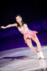 Shizuka Arakawa (Patrick Frauchiger) Tags: show music art ice switzerland dress stage zurich skating skirt skate figure figureskating 2009 skates arakawa artonice hallenstadion shizuka