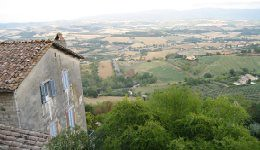 View in Todi Italy
