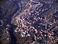 A town near Fiumicino Airport, Rome.