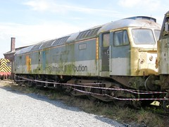 47236 2008-07-26 Carnforth (Banbury Bob) Tags: uk greatbritain england train br diesel engine rail railway loco trains brush gb locomotive nr railways britishrail duff trainz carnforth nationalrail britishrailways class47 britishrailway wcrc westcoastrailwaycompany 47236