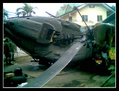 Helicopter Crashed (xelor (on and off)) Tags: accident crashed helicopter mywinners