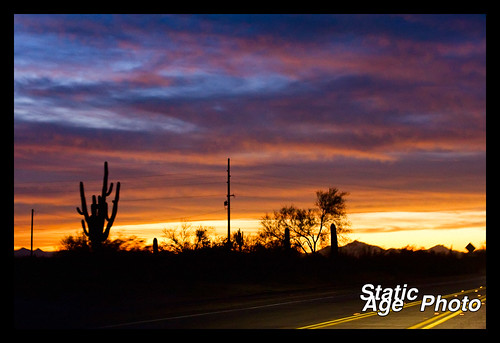 Sonoran Sunset © 2009 Michael Kang