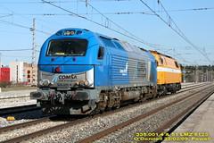 Comsa Rail Transport ODonnell (Powell 333) Tags: madrid train tren trenes euro trains estacion 51 001 odonnell 312 4000 renfe lmz translado 335 operador danesa adif ffcc operadora 5123 comsa odonnell euro4000 335001 prievada ferrocarrail