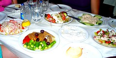 Greek dinner (shatang) Tags: athens greece volos