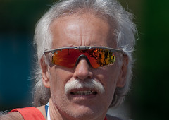 Corredor (chαblet) Tags: méxico marathon reflejo lentes corredor canas correr maratón α100 chablet
