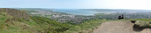 Belfast Lough Panorama form Cave Hill