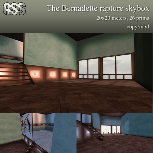 The Bernadette rapture skybox