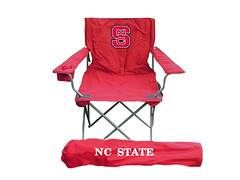 NC State TailGate Folding Camping Chair