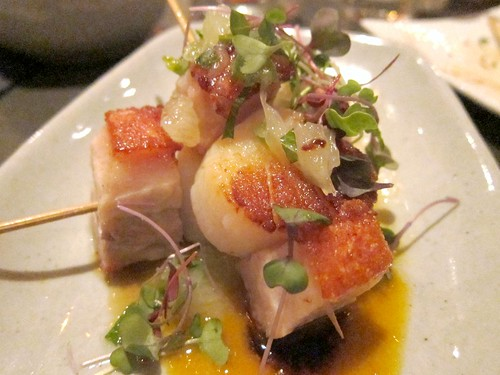 Scallop Pork Belly Skewer
