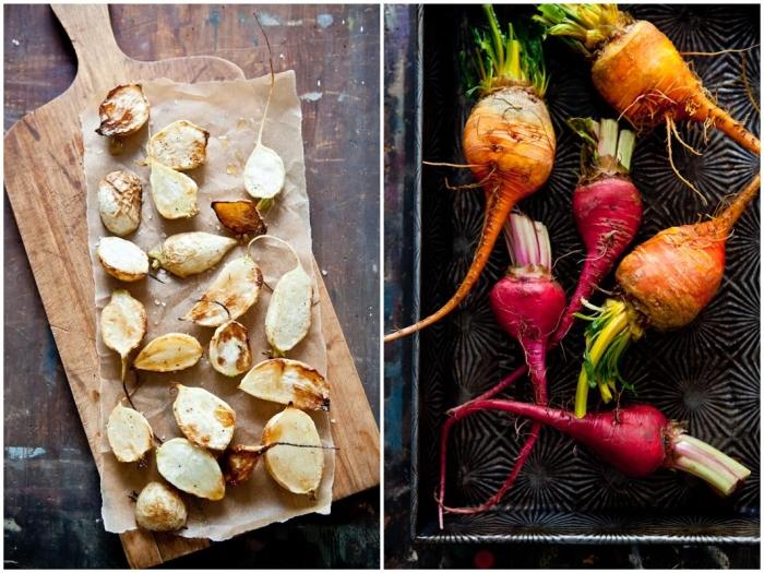 Roasted Turnips & Beets
