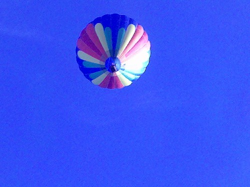 Balloon over Boise