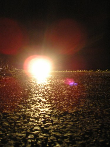 Night road by Ben Shepherd.