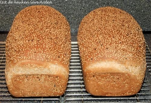 Speltbrood met sesamzaad