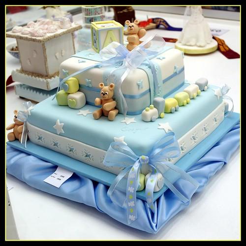 Elegant Baby Boy Cakes