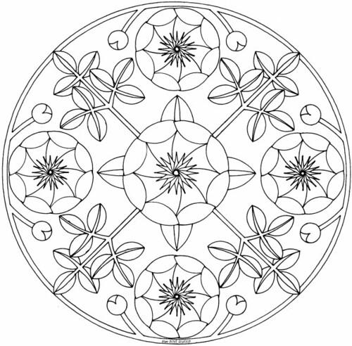 Peony Mandala