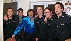 Charlie Hodge, Elvis & the band - backstage - The Vegas Kings (The Vegas Kings) Tags: band neildiamond tributeartist charliehodge thevegaskings
