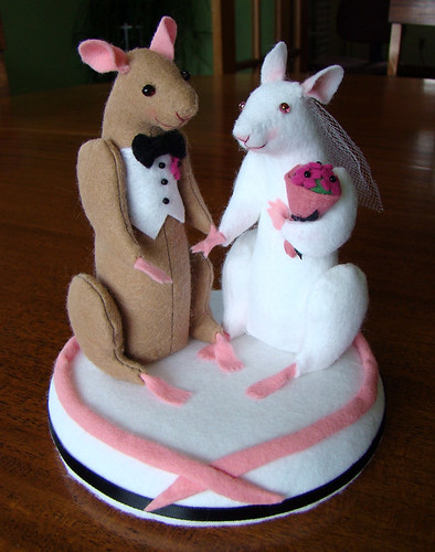 Finished Cake Topper