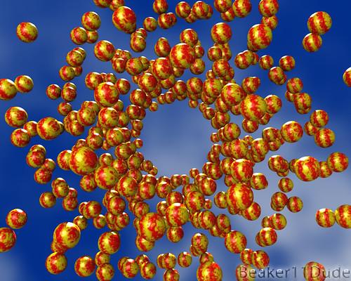 Synchronized Spheres 2