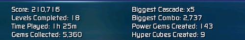 Bejeweled II High Score!