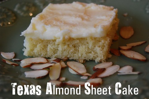 Texas Almond Sheet Cake - Page 080
