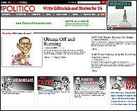 Web de The Politico