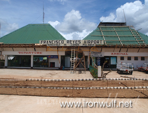 Old Francisco Reyes Airport