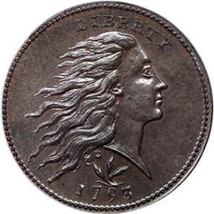 1793 Large Cent S-9 Obverse