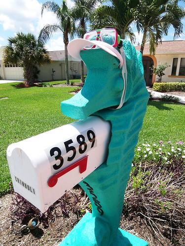 Seahorse Mailbox Bonita Springs