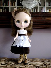 Brown velvety Alice in Wonderland