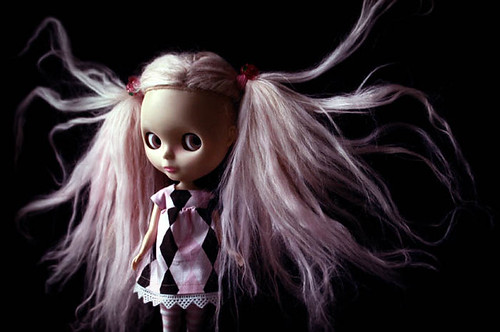 scary girl by GoddessOfHellFire.