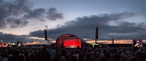 Leonard Cohen Concert, Dublin June 14, 2008 by Michael Foley Photography