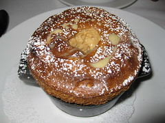 Old Town Brasserie: Le souffle - hazelnut (close up)